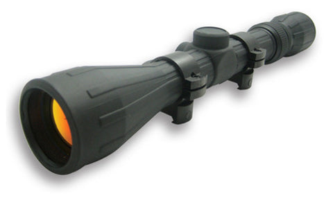 NC Star 3-9X40 Rubber Scope/Ruby Lens/Ring