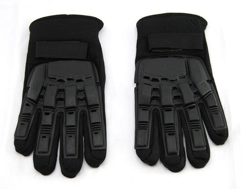 Social Paintball SMPL Armor Gloves - Full Finger - Black - Social Paintball