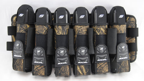 Social Paintball Grit Pack Harness 6+9 - Hunter Camo - Social Paintball