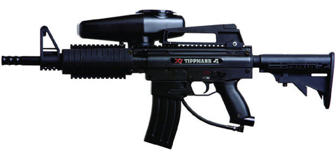 Tippmann X7 M16 Style Marker with Mods