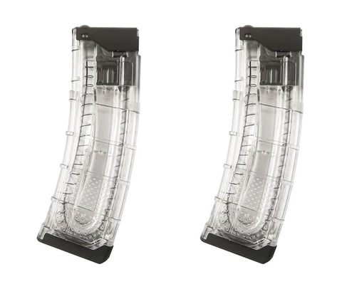 First Strike T15 V2 20rd Magazine - Clear - 2 Pack - First Strike