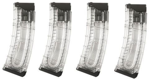 First Strike T15 V2 20rd Magazine - Clear - 4 Pack - First Strike