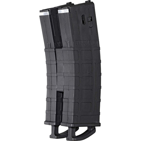 Tippmann TMC/Stormer Magazine w/ Coupler 2 Pack - 20 Ball - Black - Tippmann Sports