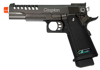 TSD Tactical WE Hi-Capa 5.1 ported Gas Blow Back Airsoft Pistol