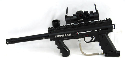 Used Pepperball Custom Carbine TX Less Lethal Home Defense Gun w/ Red Dot - Pepperball
