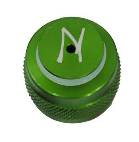 Ninja Aluminum Thread Protector - Green w/ 015-90 O-Ring - Ninja Paintball