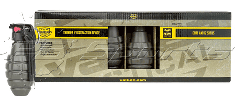 Valken Tactical Thunder V 12pk (Core+Shell) -Pineapple CO2 Airsoft Noise Grenade