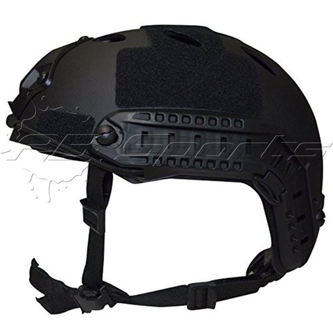 Valken Helmet V Tactical Airsoft/Paintball CQB ATH NVG Shroud Enhanced P-Black - Valken Paintball