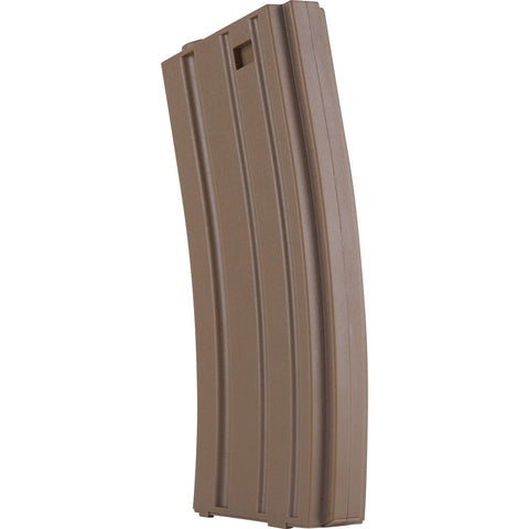 Valken Tactical M16 Hi-Cap Metal 300 Round Magazine - Tan - Valken Airsoft