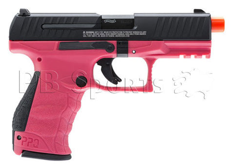 Elite Force Walther PPQ MOD 2 WILDBERRY Green Gas Blow Back Airsoft Pistol by VFC