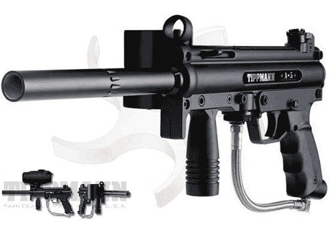 Tippmann A-5 with NEW H.E. Selector Switch E-grip