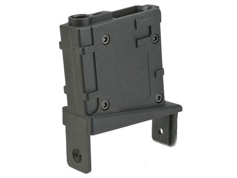 Angel Custom Magazine Adapter for Firestorm / Thunderstorm AEG Drum Magazines - (M4 / Black) - Evike
