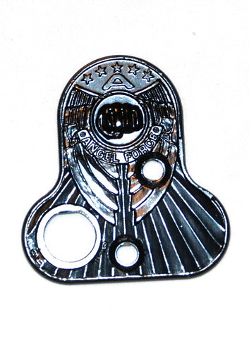 Angel Force Back Plate - Black Polish
