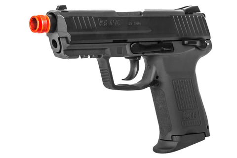 Elite Force HK 45C Compact Airsoft Pistol Gas Blowback GBB - Black - KWA