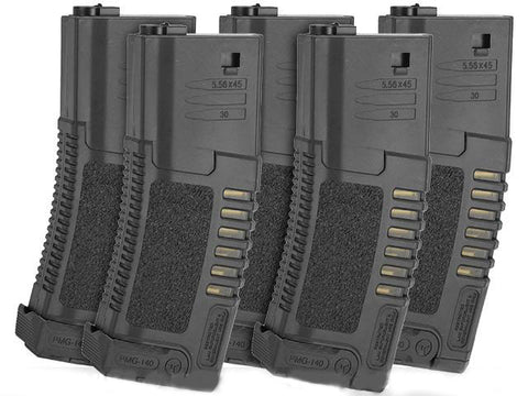 Elite Force Umarex Amoeba AM4-M4 Mid Cap 140 Round Magazines - Black - Elite Force