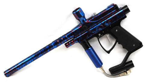 Used Action Markers Sentinel - Red/Blue Splash