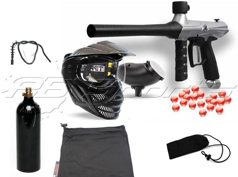 Tippmann Gryphon Basic CO2 Package - Silver - Tippmann Sports