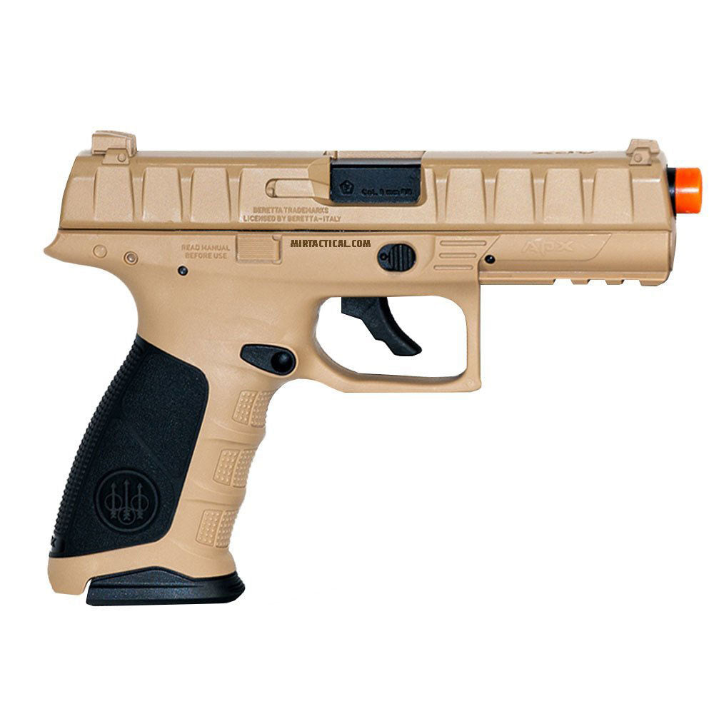 Elite Force Beretta APX CO2 Airsoft Pistol - FDE/Black
