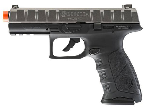Elite Force Beretta APX CO2 Airsoft Pistol - Silver/Black - Elite Force