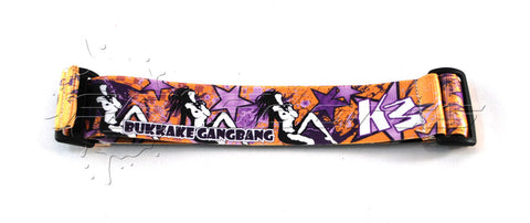 KM Strap - Bukkake Gangbang - Orange Purple - KM