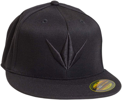 Bunker Kings Crown Flexfit 3D Hat Black/Black - S/M - Bunker Kings