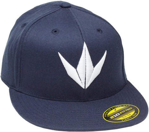 Bunker Kings Crown Flexfit 3D Hat Navy Blue/White - S/M - Bunker Kings