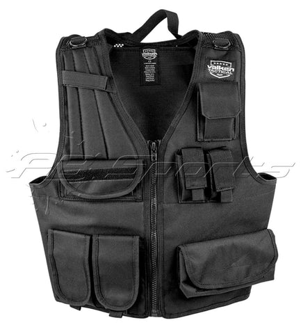 Valken Airsoft Tactical Vest Black - Valken Paintball