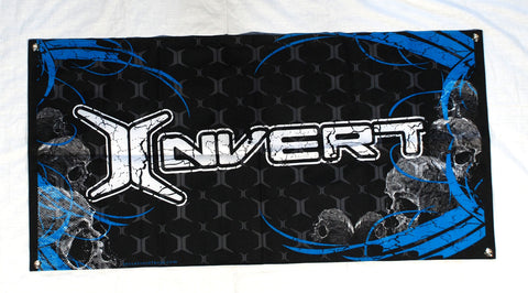 Invert Paintball Banner - Blue