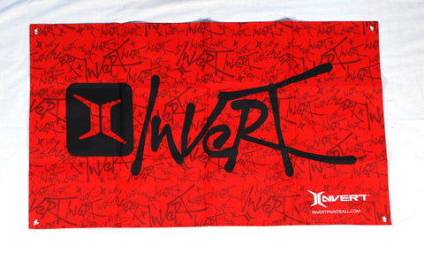 Invert Paintball Banner - Red