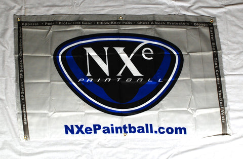 NXe Paintball Cloth Banner