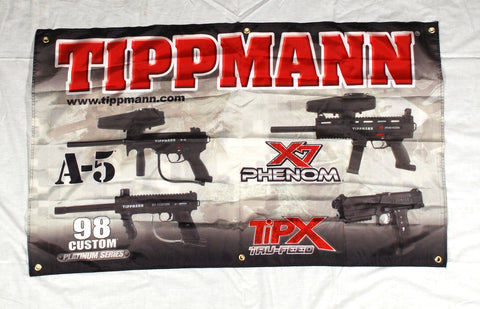 Tippmann Sports Cloth Banner