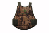 Empire BT Folding Chest Protector - Black / Camo Reversible - Empire Battle Tested