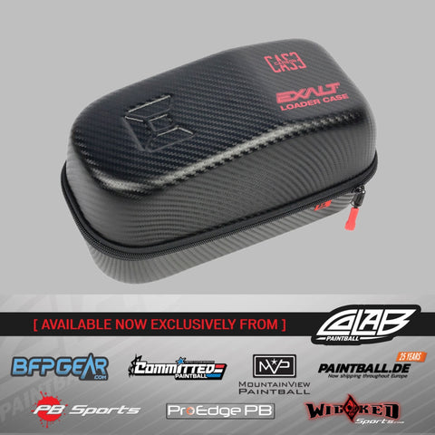 Exalt Carbon Loader Case - Black/Red - Exalt