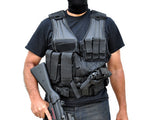 Tactical Airsoft Vest - Black - NC Star