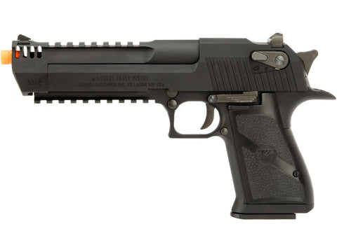Cybergun Desert Eagle Licensed L6 .50AE Full Metal Gas Blowback Airsoft Pistol - Black - Cybergun