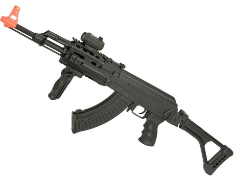 CYMA Sport Tactical AK47 Airsoft AEG w/ Side Folding Stock - Evike
