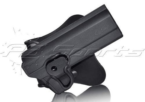"Cytac Thermal Mold 1911 Airsoft Holster w/ Belt Attachment Option 3"" Length"