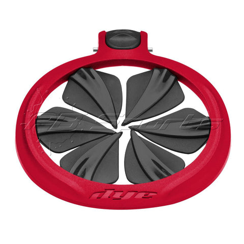 Dye Paintball Rotor R2 Quick Feed - Red - DYE