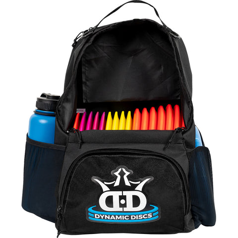 Dynamic Discs Cadet Backpack Disc Golf Bag - Black - Dynamic Discs