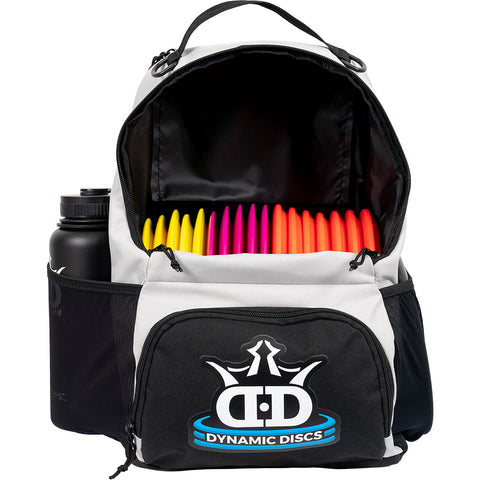 Dynamic Discs Cadet Backpack Disc Golf Bag - Gray - Dynamic Discs