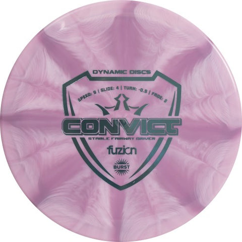 Dynamic Discs Fuzion Burst Convict Disc - Dynamic Discs