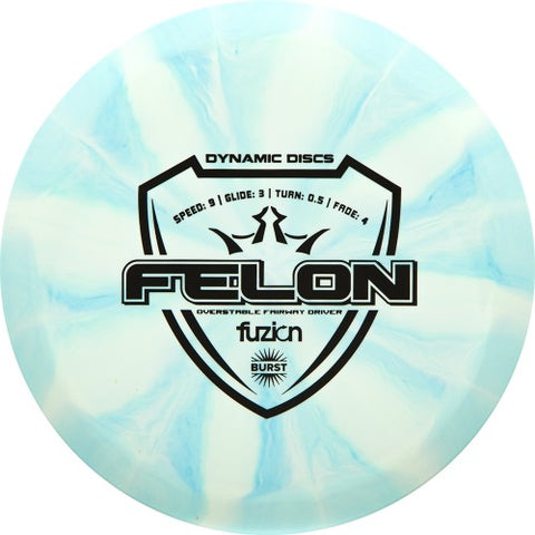 Copy of Dynamic Discs Fuzion Burst Felon 160-169g - Dynamic Discs