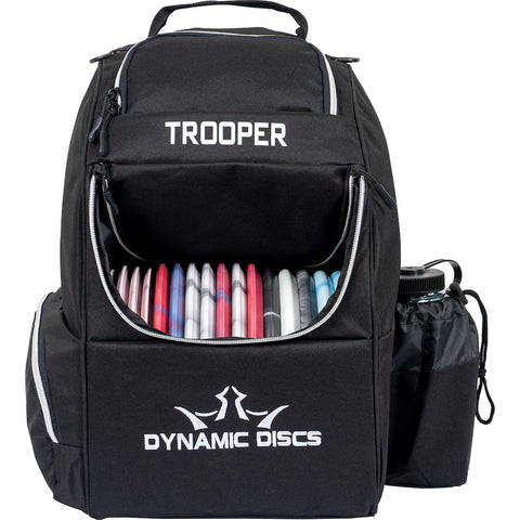 Dynamic Discs Trooper Disc Golf Bag - Black - Dynamic Discs