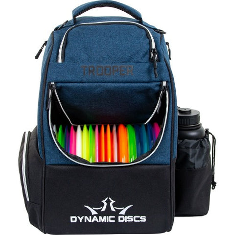 Dynamic Discs Trooper Disc Golf Bag - Midnight Blue - Dynamic Discs