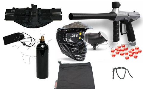 Tippmann Gryphon Essential CO2 Package - Silver - Tippmann Sports