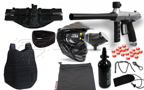 Tippmann Gryphon Essential N2 Protection Package - Silver