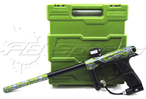 Used Planet Eclipse Etha - Green/Silver Zombie - Planet Eclipse
