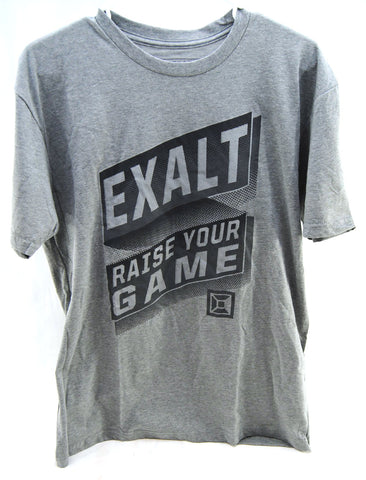 Exalt Paintball Banner T-Shirt Large - Grey - Exalt