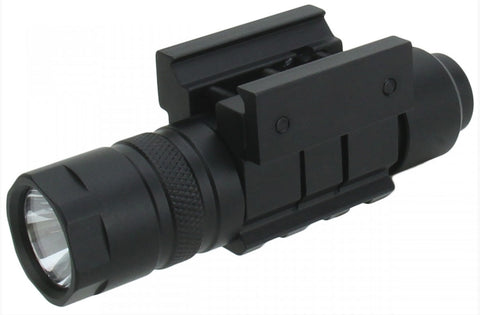 TACFIRE 150 Lumen Rifle Flashlight - Picatinny / Weaver