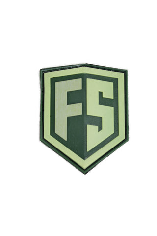 First Strike PVC Velcro Patch - Drab/Earth - First Strike